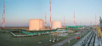 Перекачивающая станция нефтепродуктов (ПСН) в районе н.п. Бернады