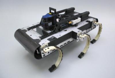 X-RHex — робот с гибридной локомоционной системой
