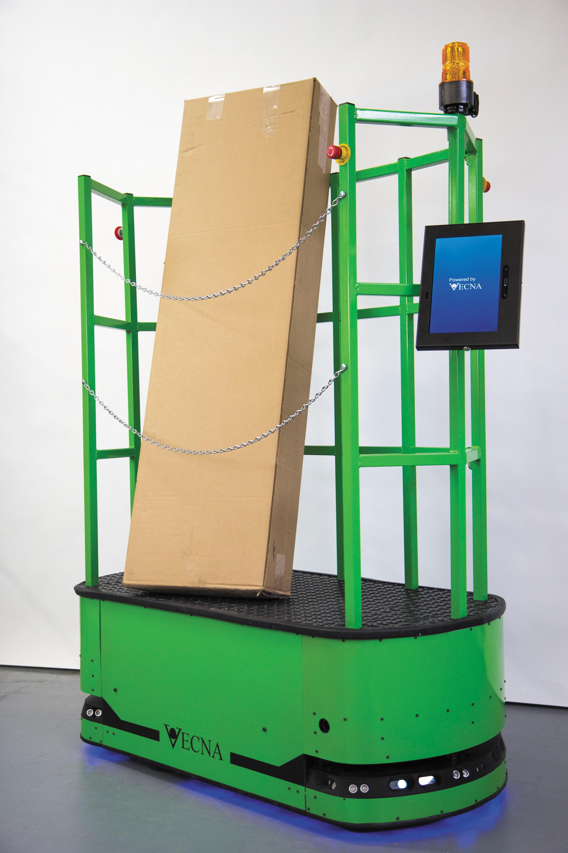 Мобильный робот Vecna QC Tugger