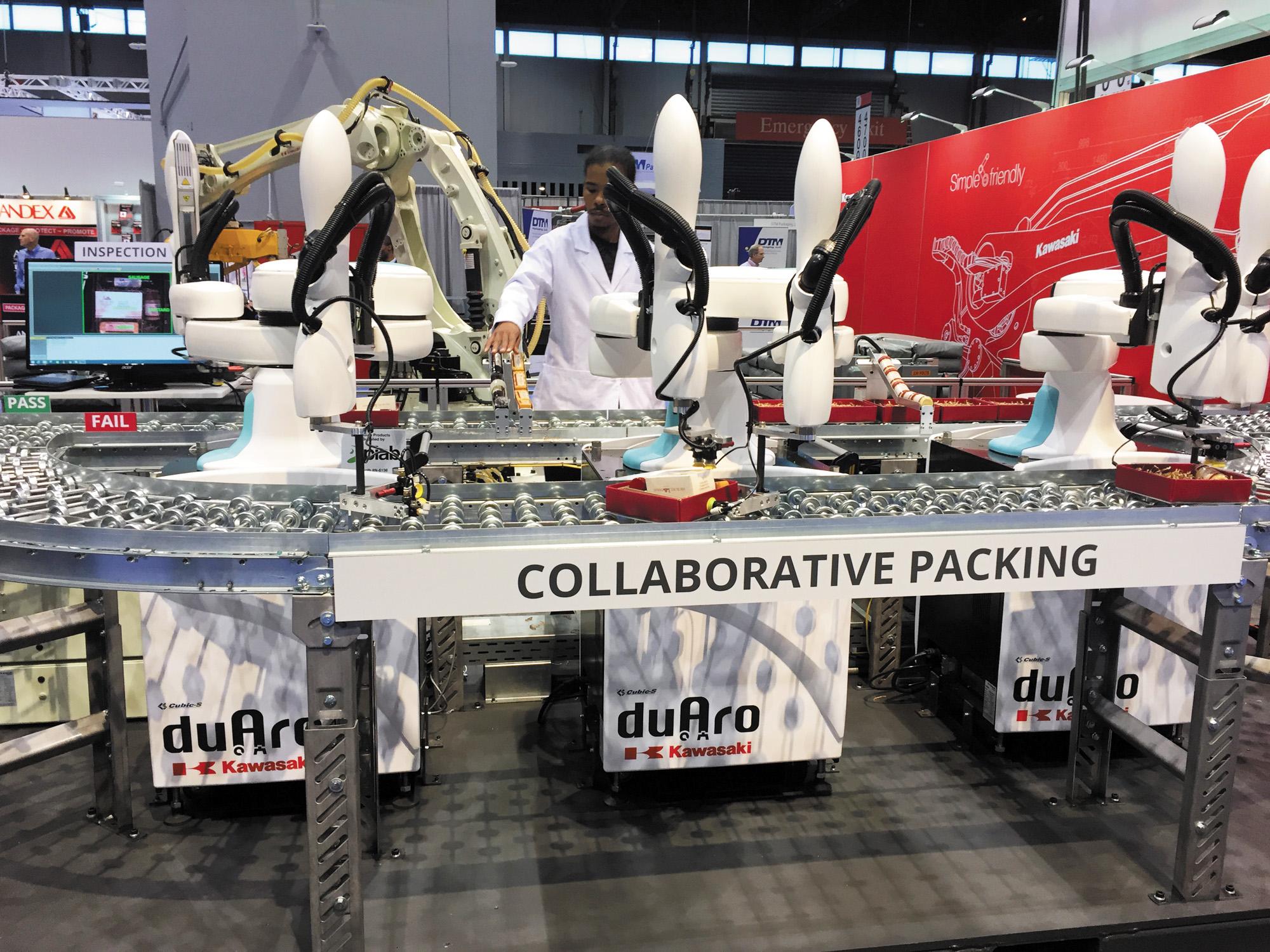 Двухманипуляторный робот