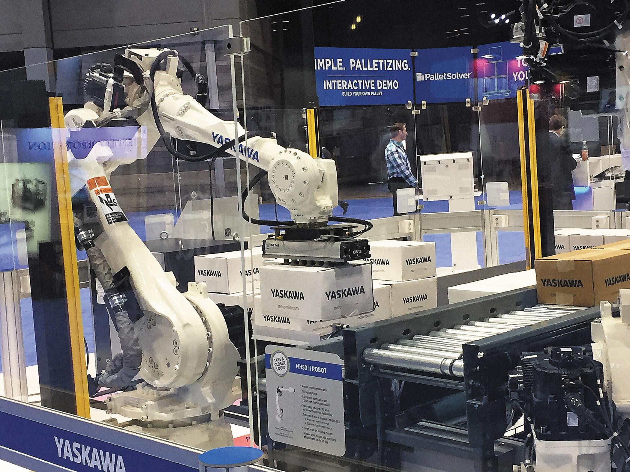 Роботы Yomanawa Motoman MH50 Серии-II