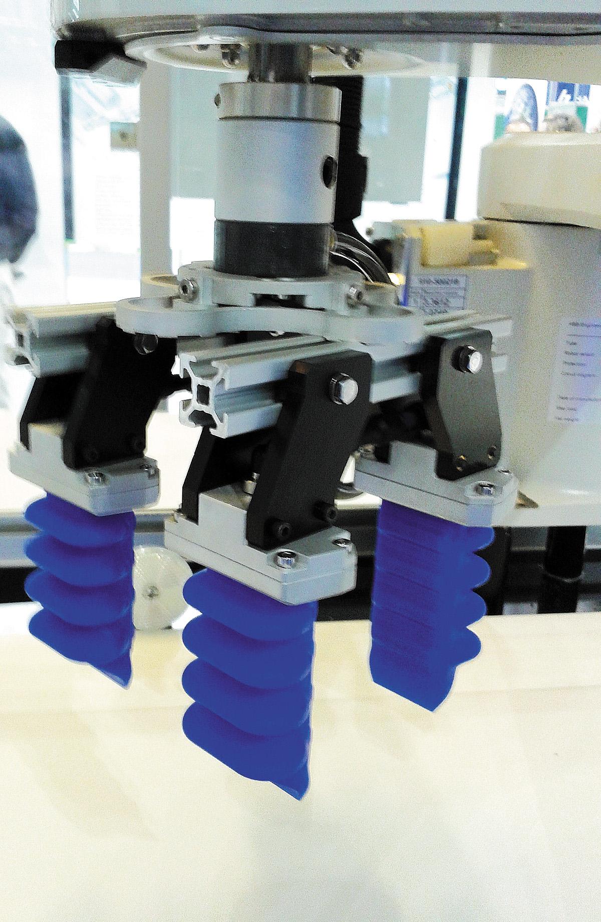 мягкие роботизированные захваты от ABB Robotics