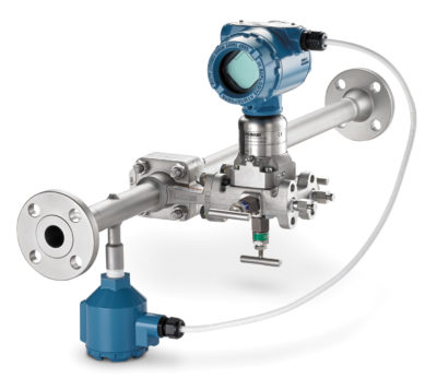 Расходомеры по перепаду давления могут иметь встроенный сенсор для измерения температуры рабочей среды