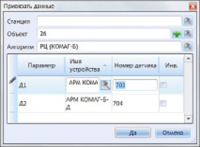 Технологическое окно дизайнера в системе АТДП