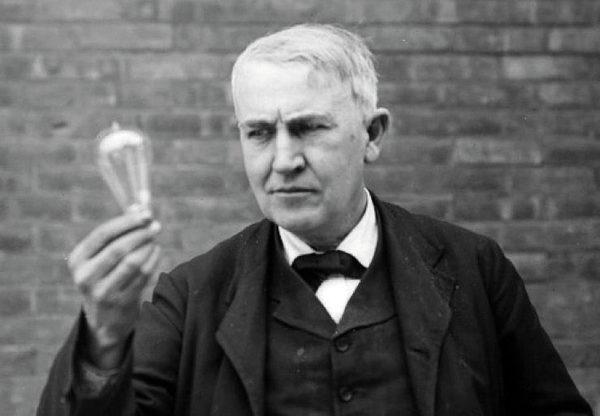 Рис. 1. Томас Эдисон (1847-1931)