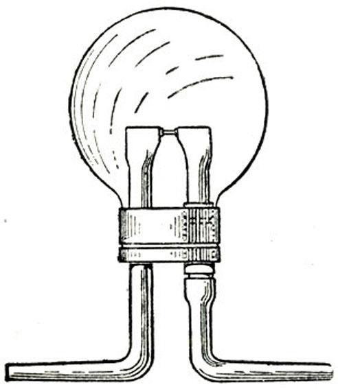 Рис. 4. Лампа Лодыгина