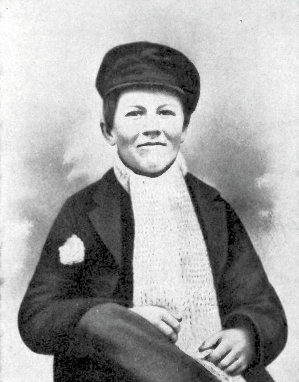 Рис. 5. Эдисон в юности