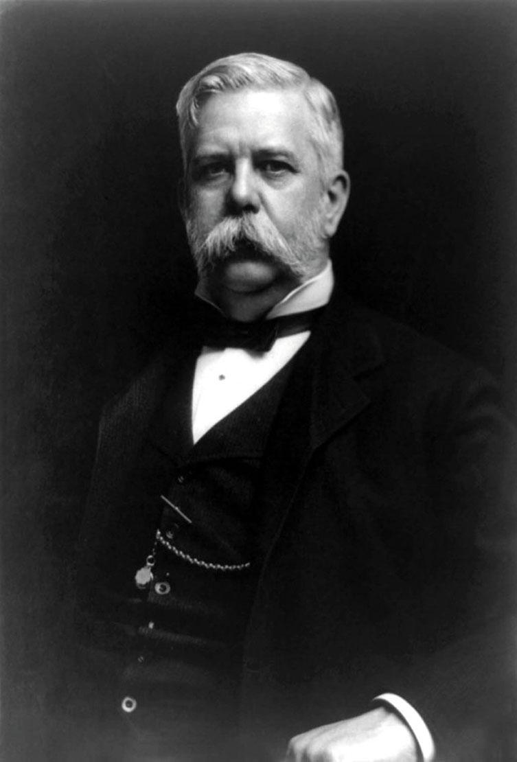 Рис. 2. Джордж Вестингауз (1846–1914)