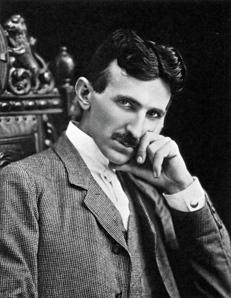 Рис. 3. Никола Тесла (1856 – 1943)