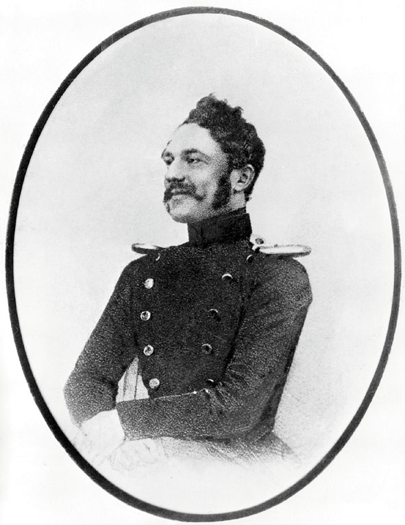 Рис. 2. Вернер Сименс – лейтенант