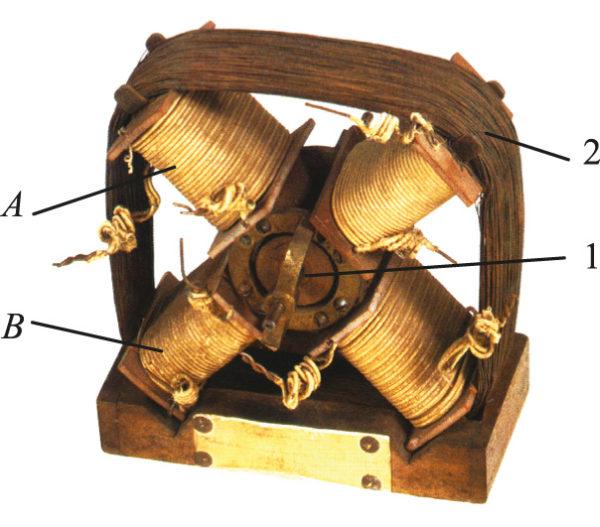 Двухфазный двигатель Феррариса