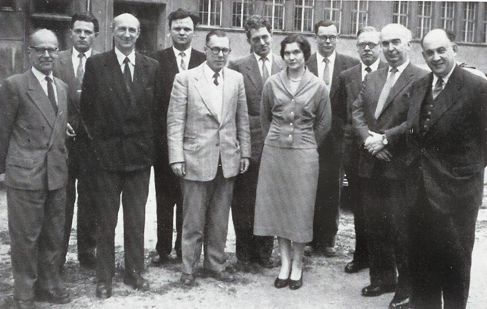 IFAC - подготовительного комитета первой генеральной ассамблеи (1957 г., Париж)