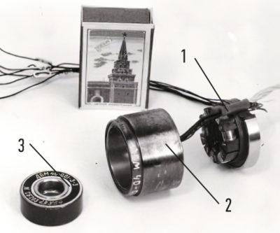 двигатель ДБМ40 с ПИМ