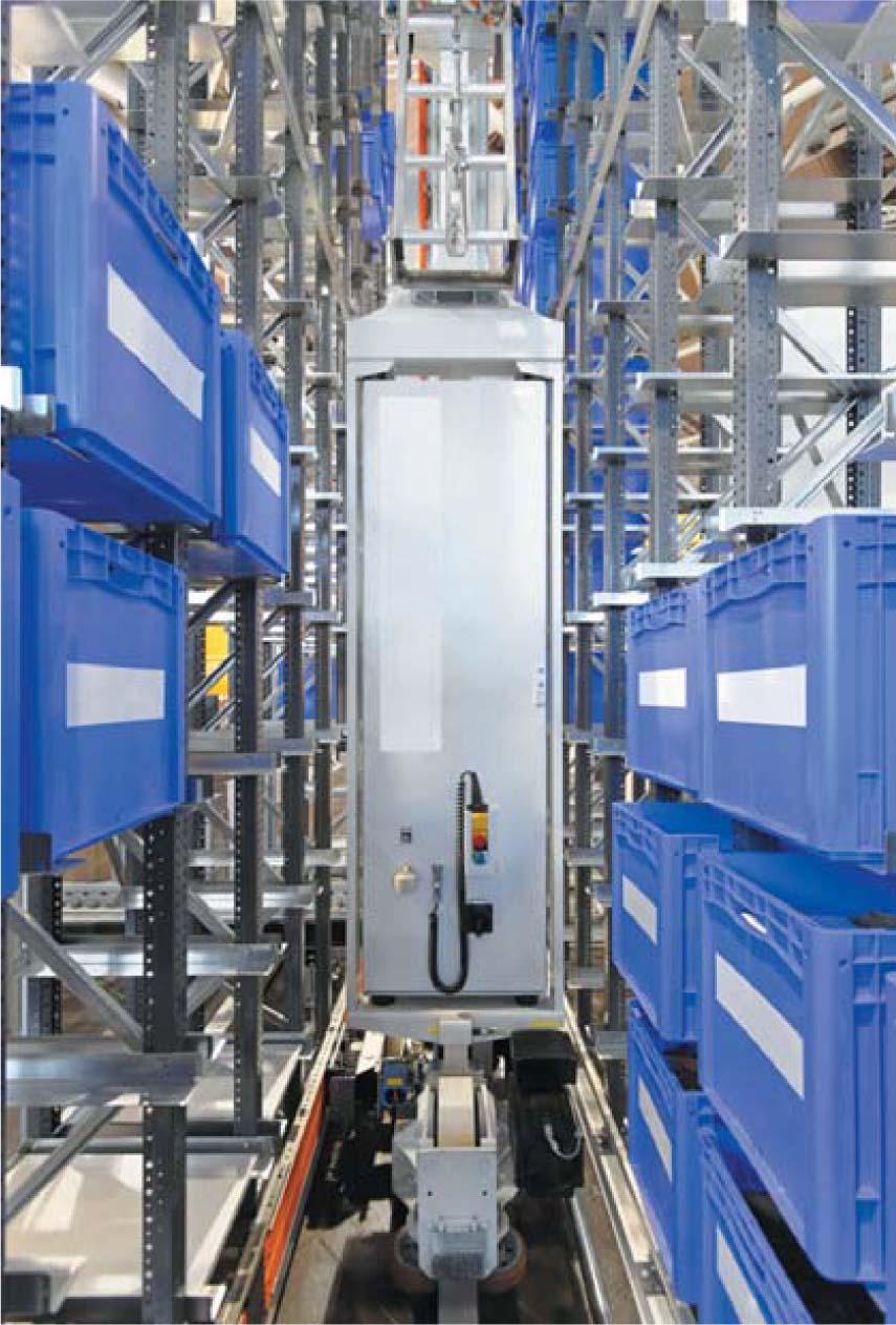 Рис. 3. Автоматизированная складская система