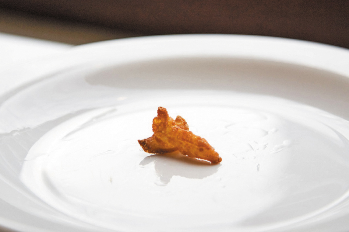 Курица в панировке в виде космического корабля