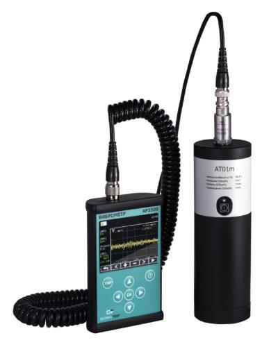 Подключение ккалибратору в иброметра AP5500