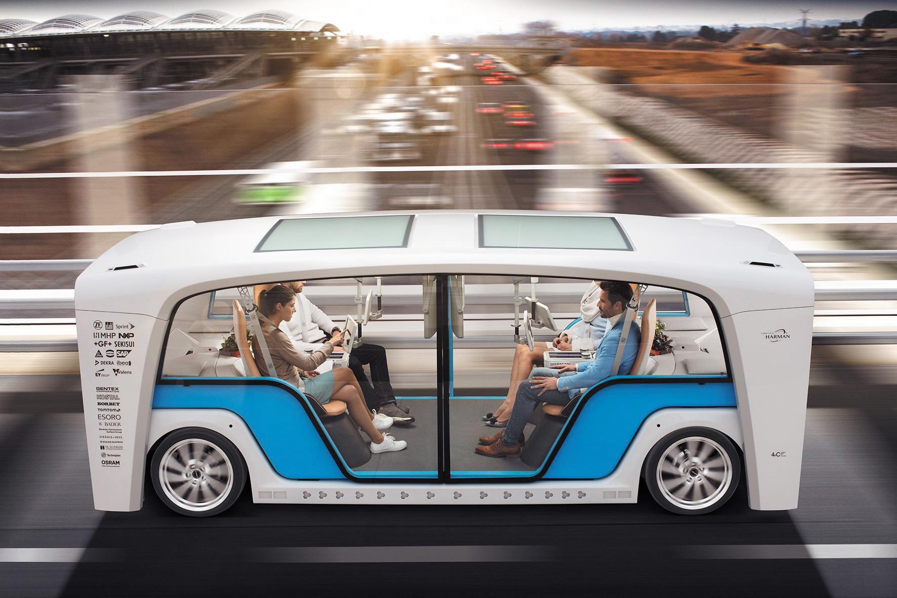 Электромобиль Snap с возможностью смены кузова