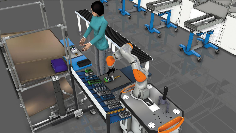 Пример пилотного проекта - цифровые двойники и оффлайн-программирование роботов