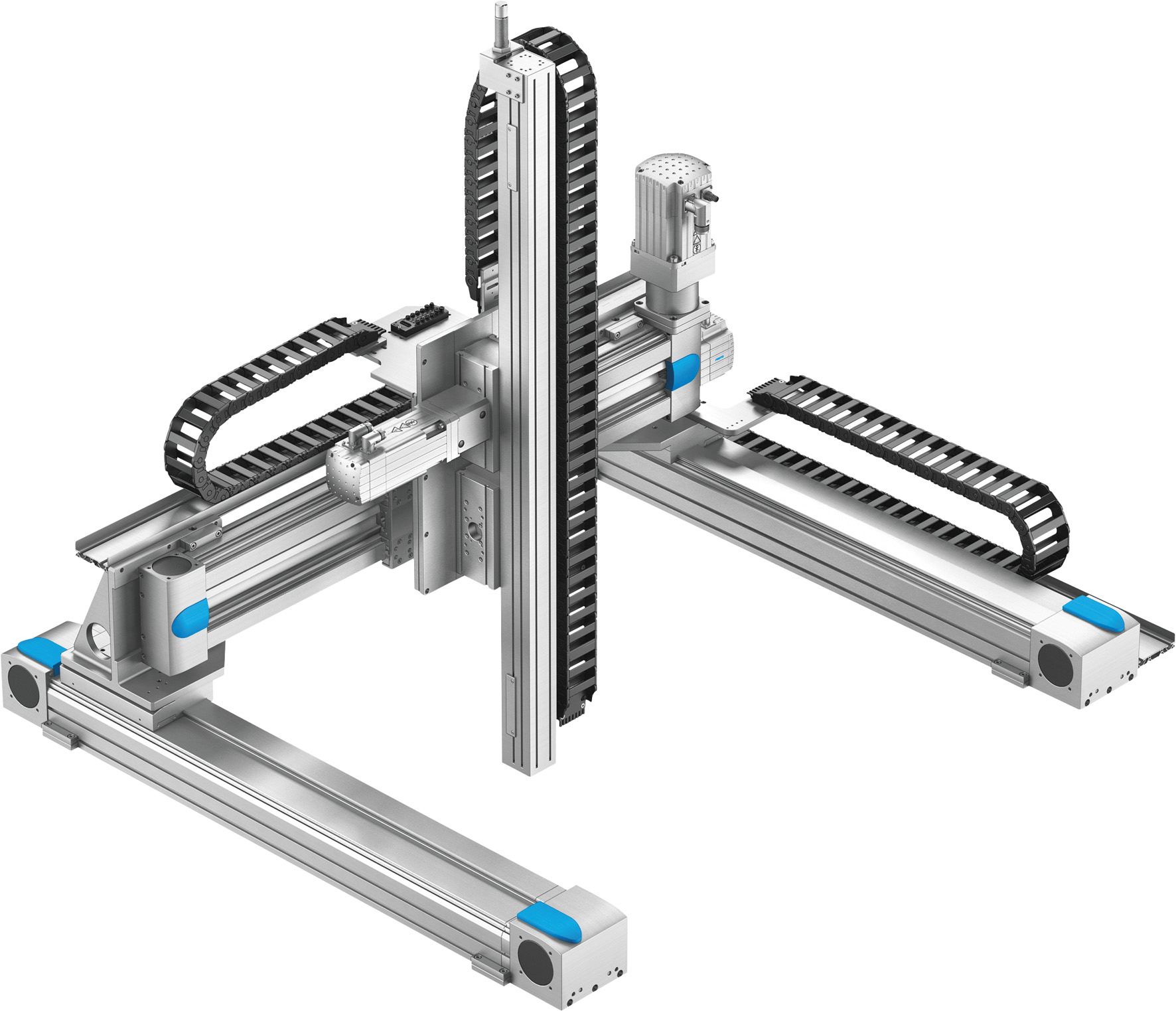 Трехкоординатный портальный манипулятор