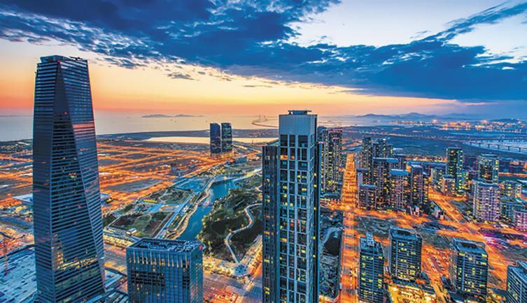 Город будущего – Сонгдо