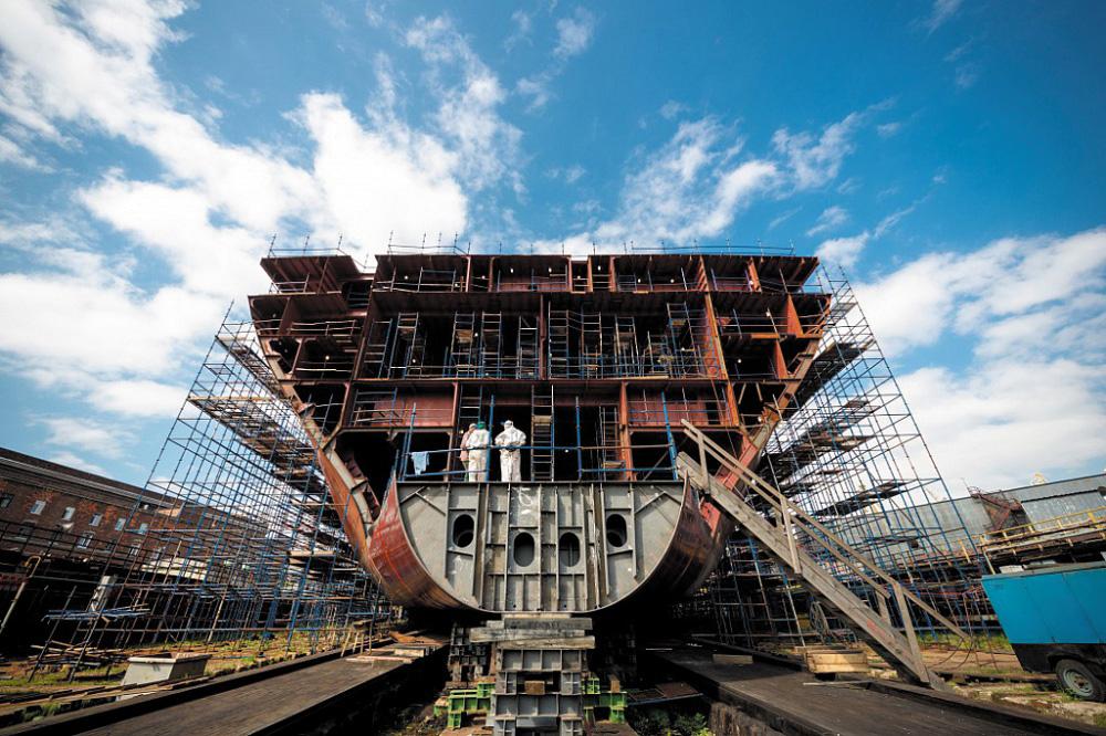 Балтийский завод, входящий в состав ОСК