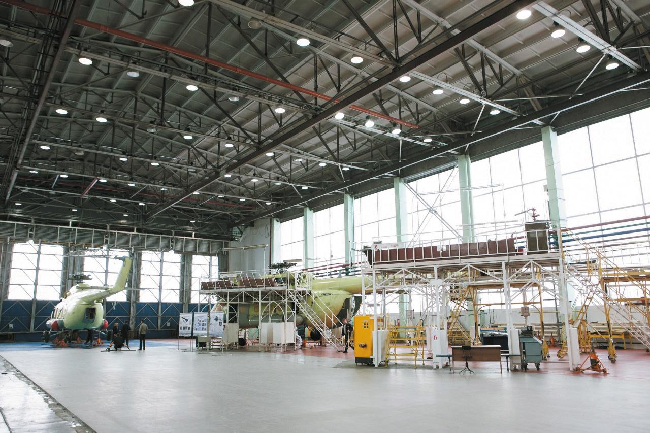 Завод в Улан-Удэ, входящий в холдинг «Вертолеты России»