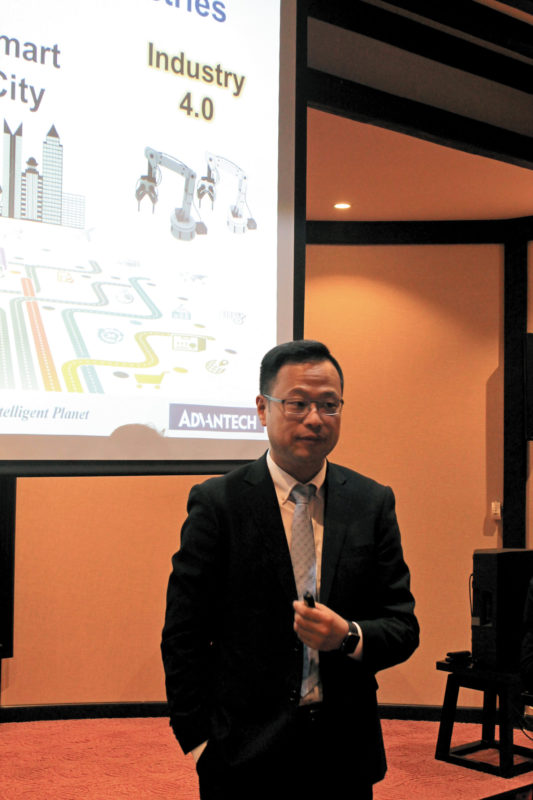 Винсент Чанг, директор департамента IIoT компании Advantech