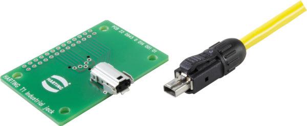 Серия HARTING T1 Industrial для соединения по протоколу SPE