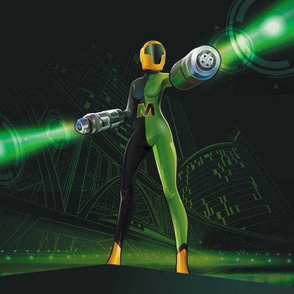 Dr. Metrix, новый герой компании HARTING