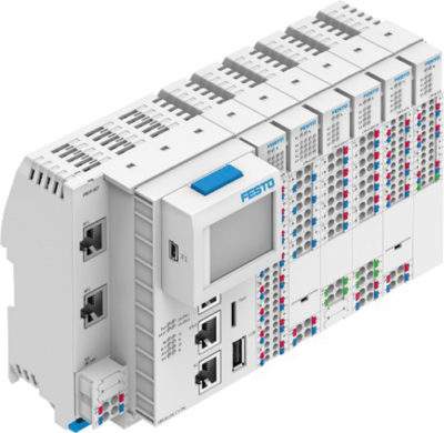 Модульный контроллер Festo CPX-E с EtherCAT-мастером