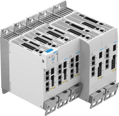 Сетевые контроллеры двигателей Festo CMMT-AS с EtherCAT