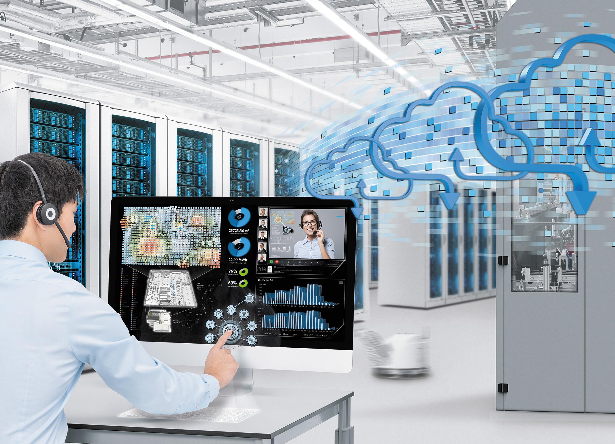Система сбора и обработки данных на базе виртуальных двойников