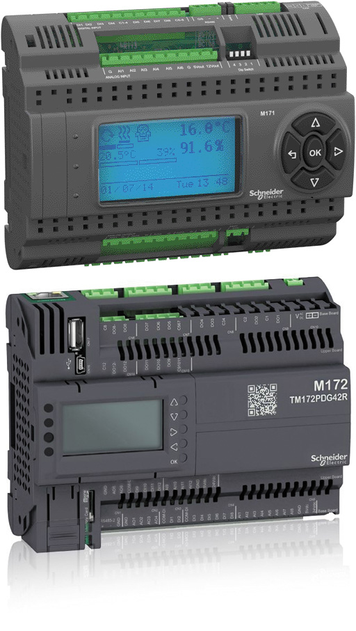 Линейка контроллеров Modicon M172P