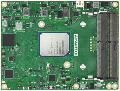Модуль SOM-5962 COM Express Type 7 компании Advantech на процессоре Intel Atom C3000