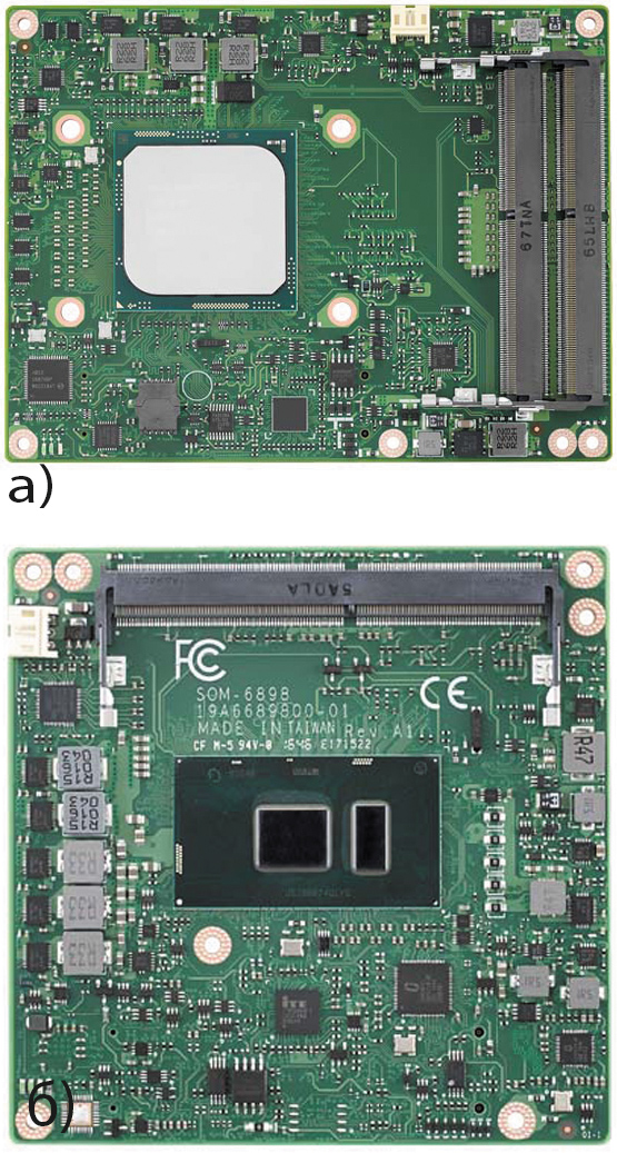 Модули компании Advantech SOM-5992 и SOM-6898 COM Express Compact Module Type 6