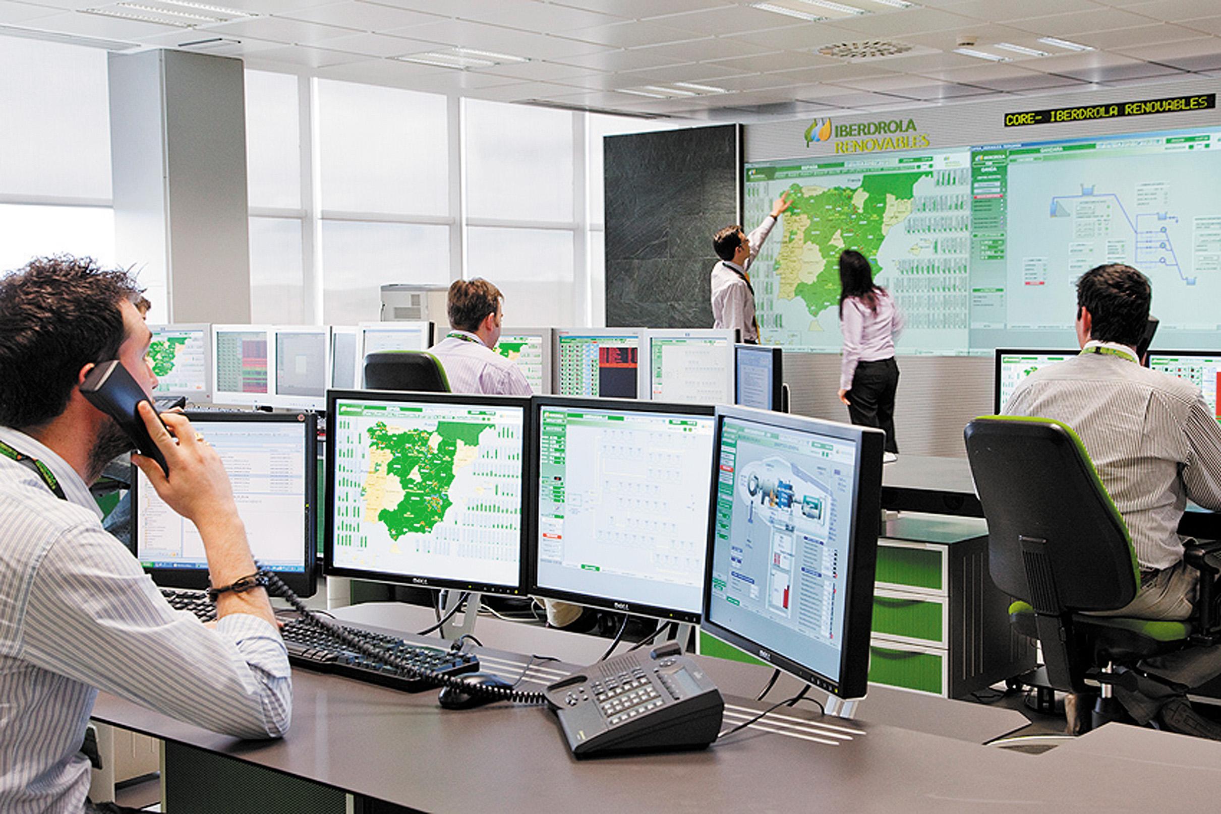 Центр управления ветровыми электростанциями вТоледо (Испания)