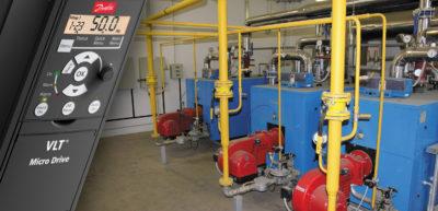 Применение частотного регулирования в квартальных системах теплоснабжения
