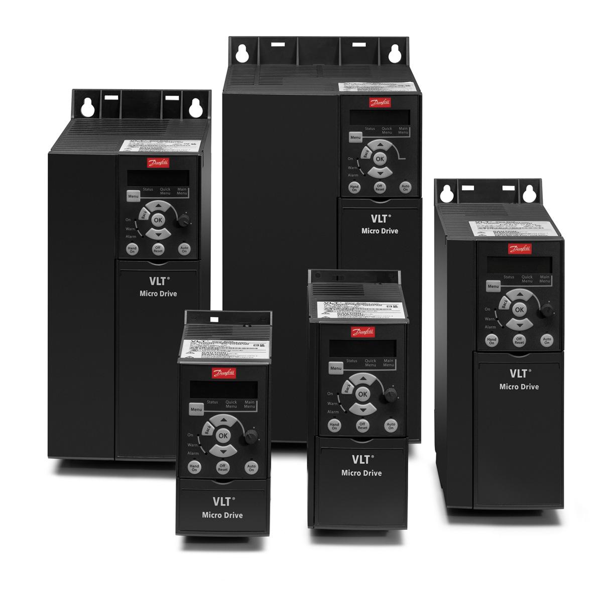 Преобразователь частоты Danfoss VLT Micro Drive