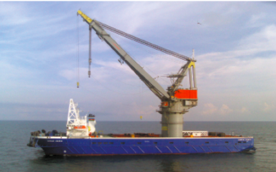 Крановое судно «Курбан Абасов»