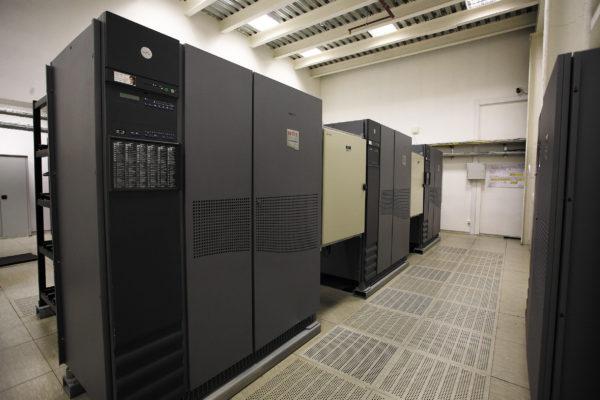 Оборудование дата-центра «ТрастИнфо»