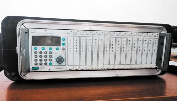 Общий вид тензометрической системы MGC+ для подключения первичных преобразователей (128 измерительных каналов)