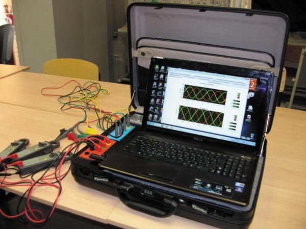 Информационно-измерительная система анализа показателей качества электроэнергии