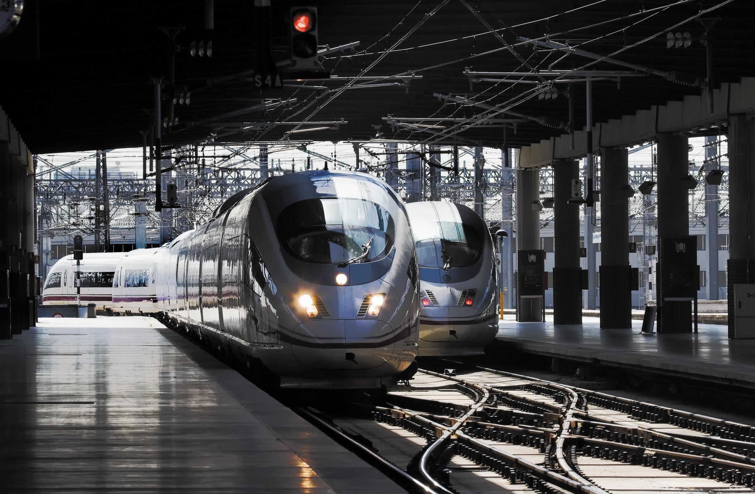 Пассажирскй поезд дальнего следования