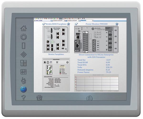Рис. HMI-платформа Allen-Bradley PanelView Plus 7