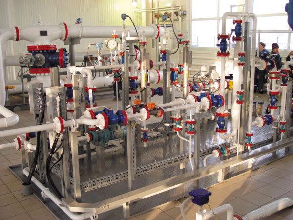 Блок измерений показателей качества нефти