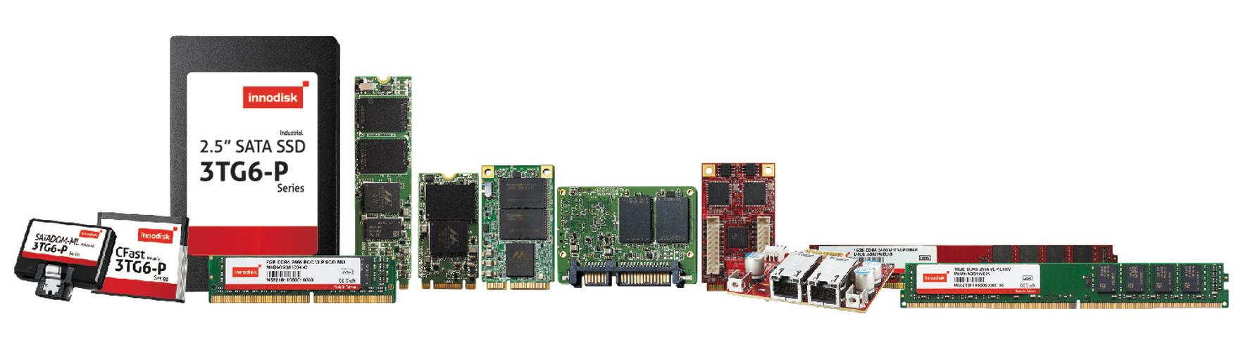 Для реализации AIoT необходимы устройства хранения данных и памяти индустриального класса. Подобные решения предлагает, например, компания Innodisk