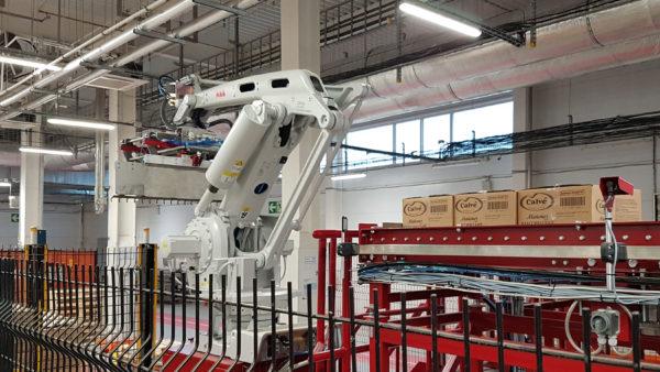 Робот IRB-660 на производстве Unilever