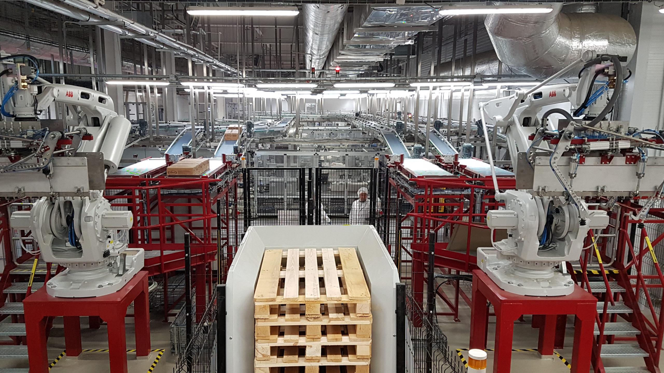 Масштабность проекта «Фруктонад Групп» и ABB (Швеция) для Unilever