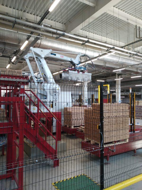 Захват на роботе ABB — авторская разработка «Фруктонад Групп»