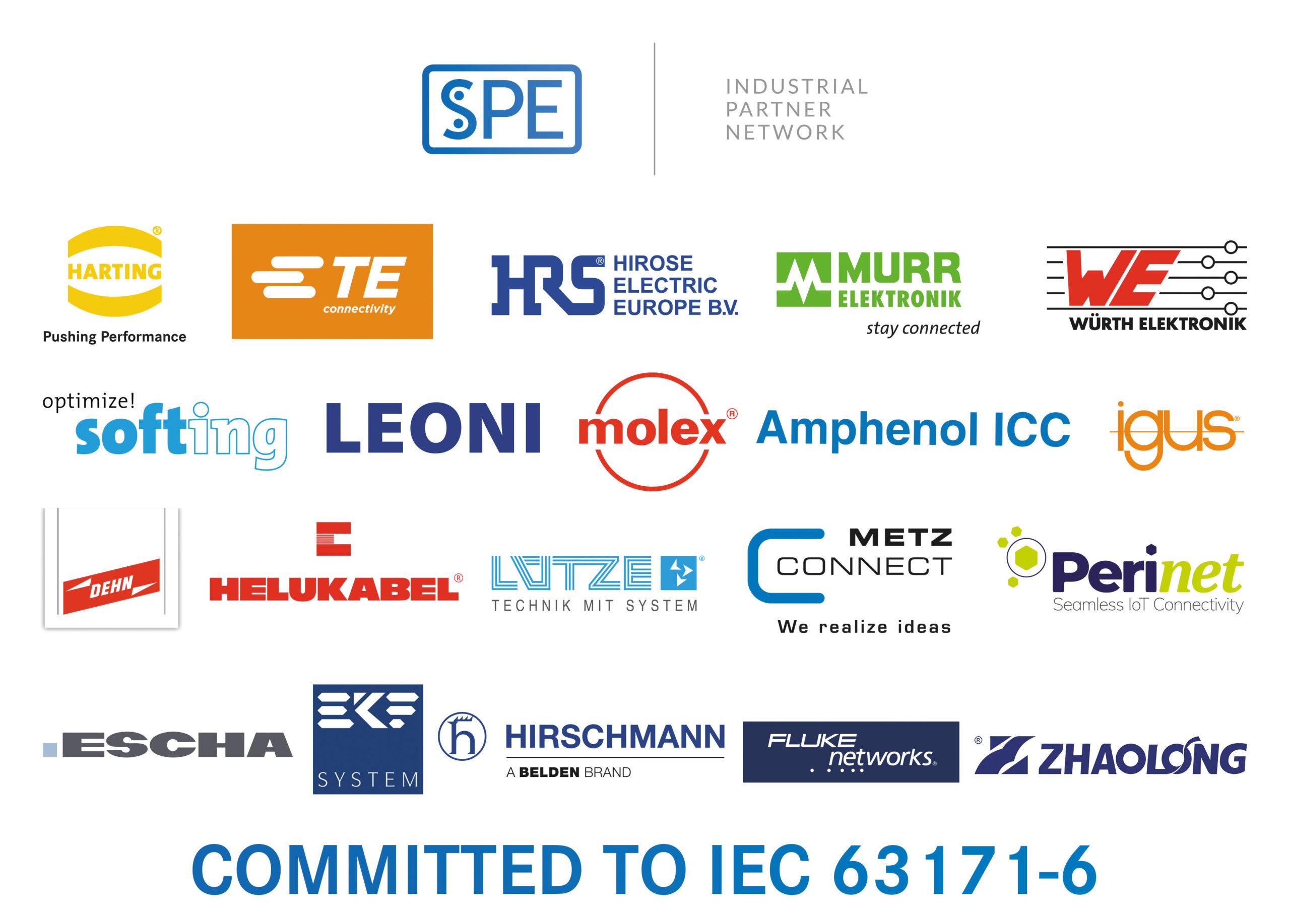 Организация SPE Industrial Partner Network e.V. - список участников
